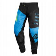 Shot Aerolite Alpha MX Trousers Cyan/Yellow